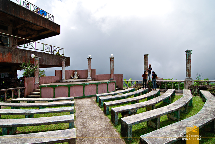 The Ampitheater at Tagaytay's People's Park in the Sky