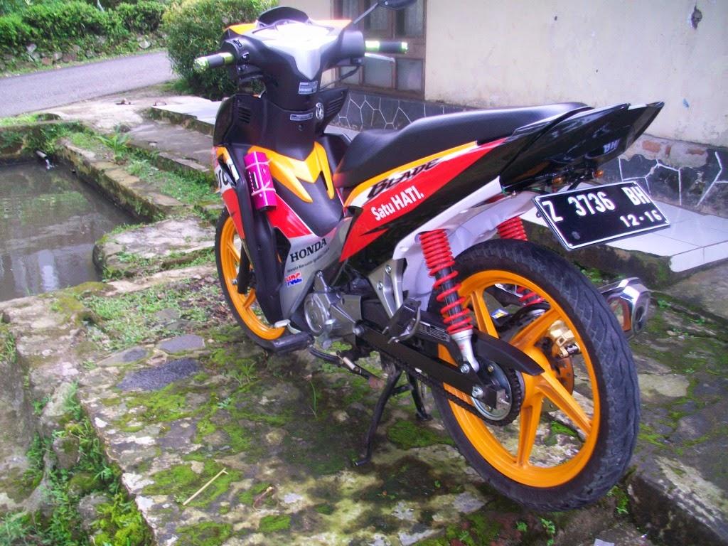 Harga Modifikasi Motor Honda Blade Modifikasi Motor Drag Honda