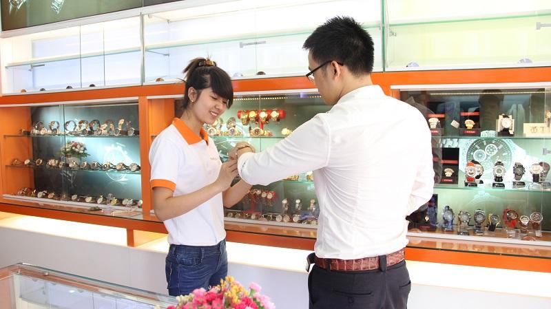 cửa hàng Đồng hồ hoàng kim