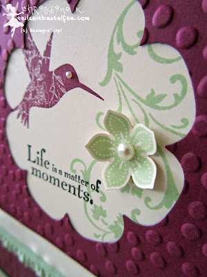 stampin up, elements of style, petite petals, punktemeer, floral frames, blütenrahmen