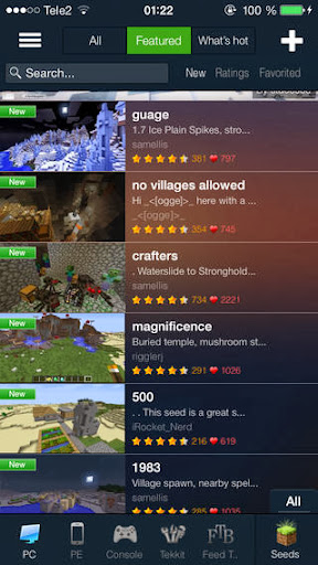 Minecraft Seeds Pro v5.0.2