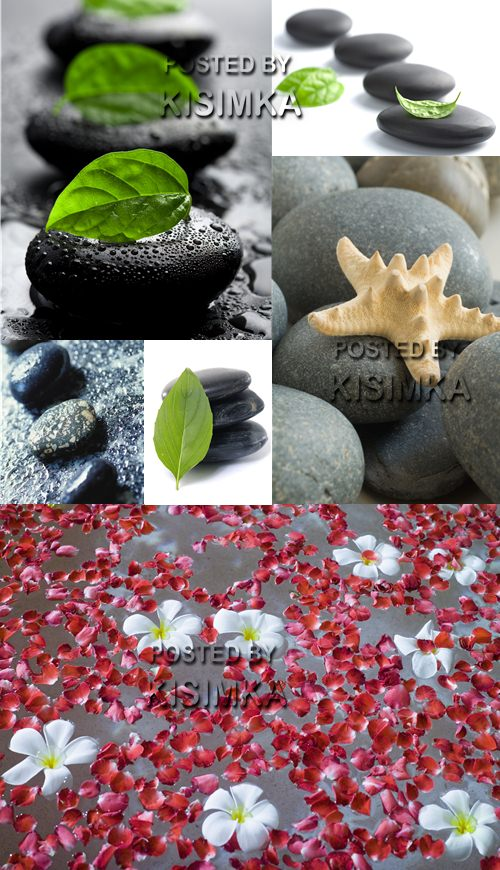 Stock Photo: Zen stone and water