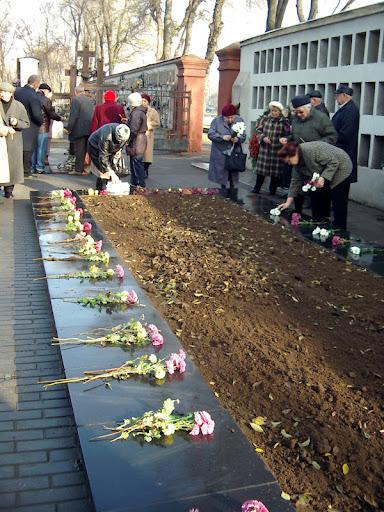 Поховання репресованих на II Християнському цвинтарі Одеси