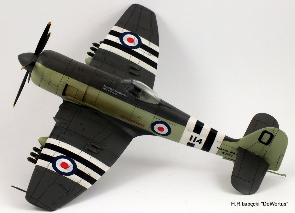 Korea 1950-53; Sea Fury FB.11, KITECH 1/48 DSCF3957