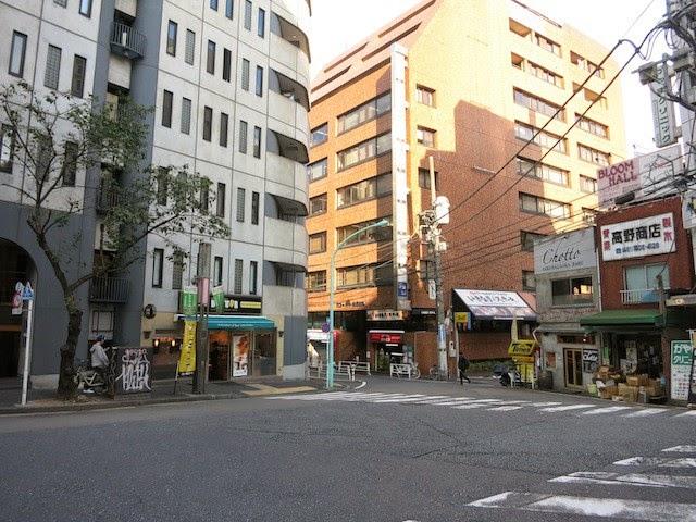 渋谷桜丘のあたりのビル群