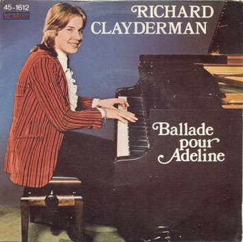 Ballade pour Adeline by Richard Clayderman Sheet Music for Piano