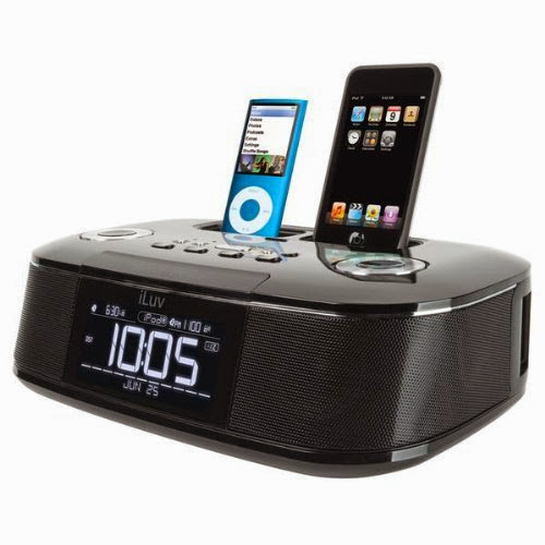 Iluv Imm173 Iphone/Ipod Alarm Clock Docking Station (Personal Audio )