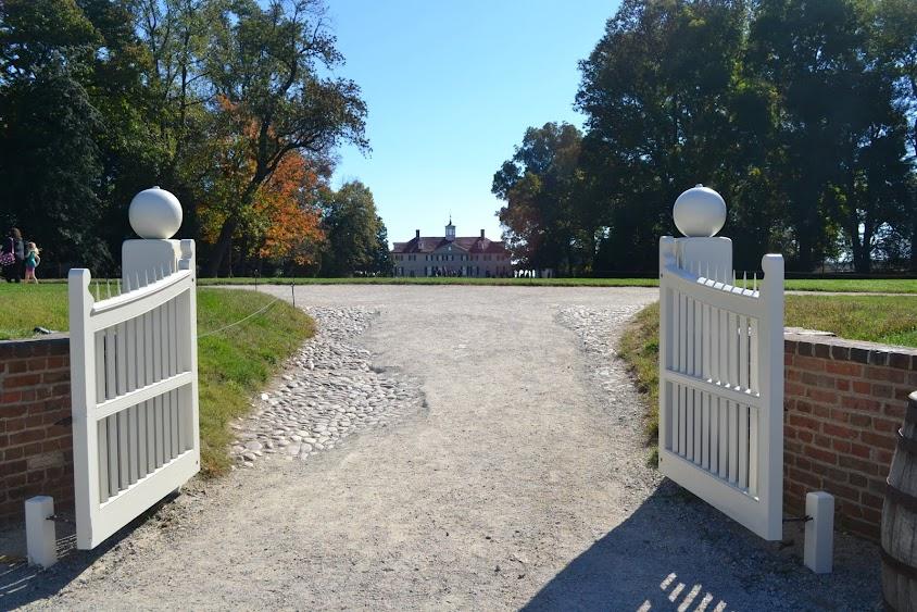 Поместье Джорджа Вашингтона, Вирджиния (Mount Vernon - the plantation house of George Washington, VA)