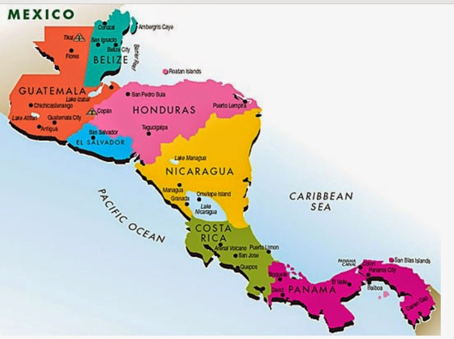 Where the heck are we now semana santa in granada nicaragua as you can see nicaragua is almost in the middle and is the largest country in the region it is also the poorest gumiabroncs Gallery