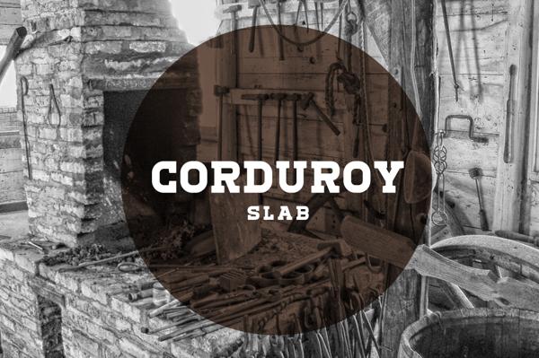Corduroy Slab Free Fonts
