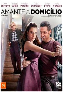 Amante a Domicílio DVD R Capa