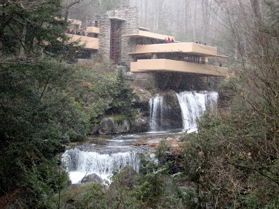 Fallingwater in Winter
