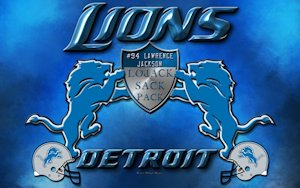 Lawrence Jackson Detroit Lions LoJack Sack Pack Wallpaper