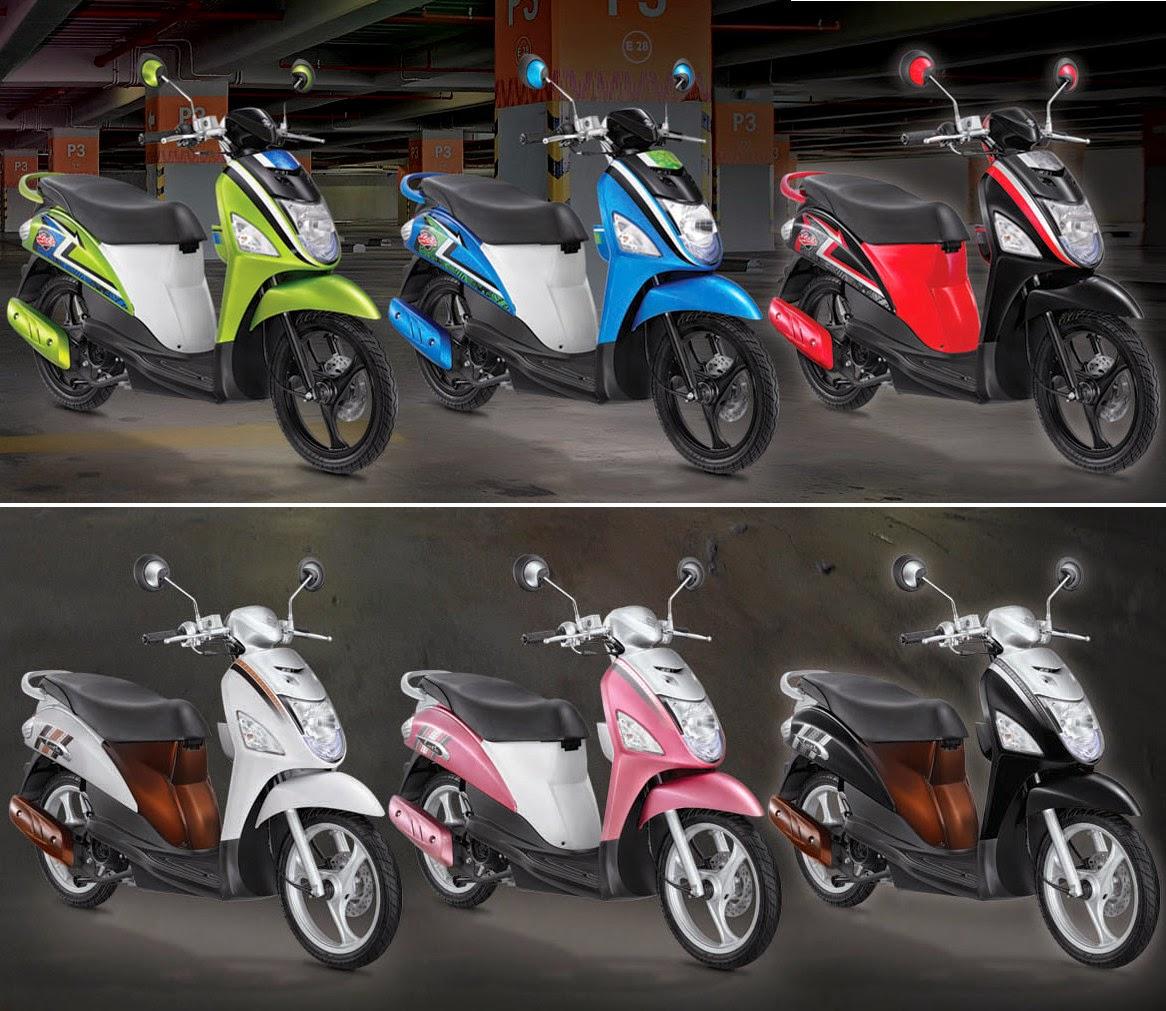 Yamaha Fino Modifikasi Retro