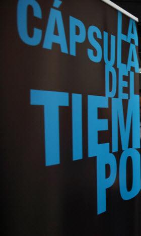 Exposición La cápsula del tiempo. Del absolutismo al liberalismo en los cimientos de Cervantes, en Sol