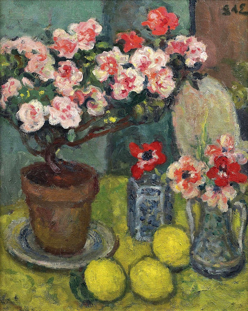 Georges d'Espagnat - Still Life with Three Lemons,1908