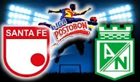 Santa fe Atletico nacional online clasico  8 Agosto