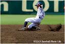 9回同点タイムリー有田くんの代走で出た村上選手。初球から見事な盗塁を成功。