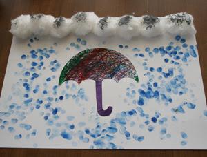 Işte Aradığın Kirmizi Burada Yağmur Ve şemsiye Etkinliği