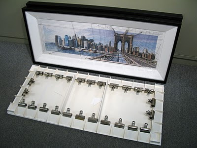 Framing the Brooklyn Bridge | harwoodART