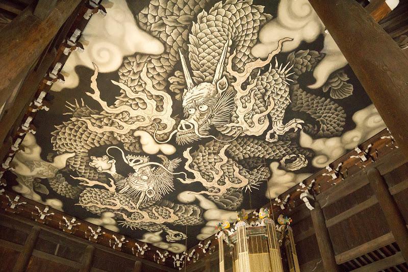 京都 建仁寺 双龍図 写真