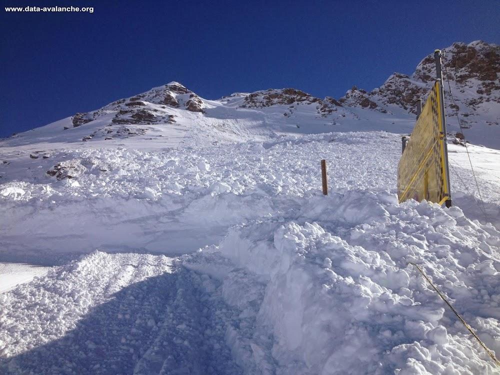 Avalanche Haute Maurienne, secteur Bonneval sur Arc, Andagne - Sommet des 3000 - Photo 1