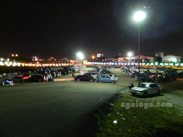 car park fee i-city shah alam