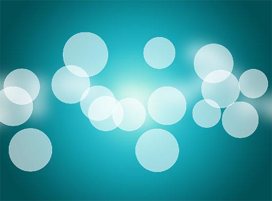 Bokeh: segunda camada de esferas