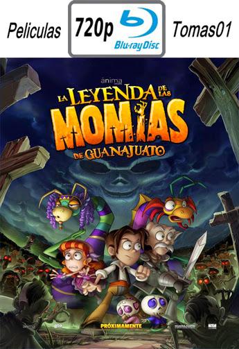 La leyenda de las momias de Guanajuato (2014) BRRip 720p