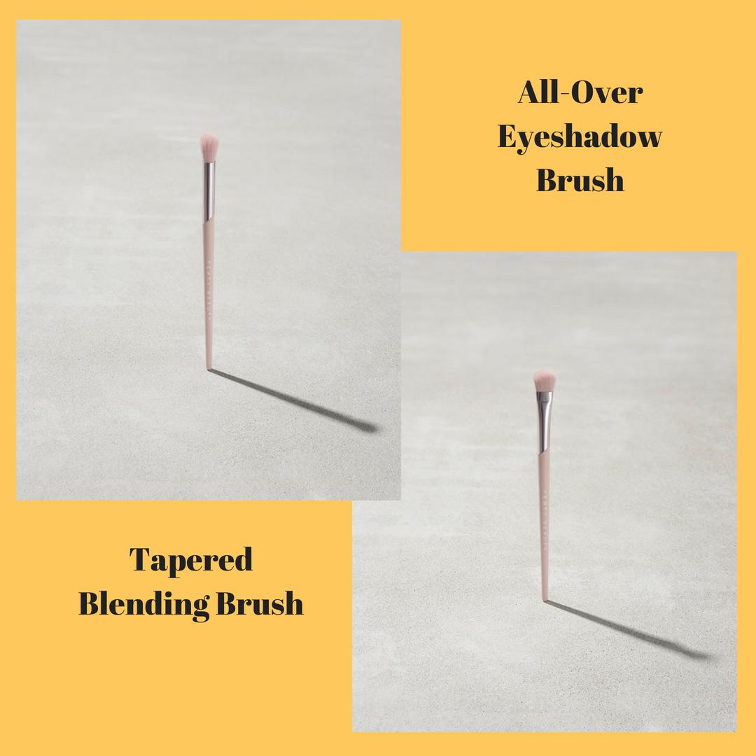 Cọ tán phấn mắtAll-Over Eyeshadow Brush 200 vàTapered Blending Brush 210