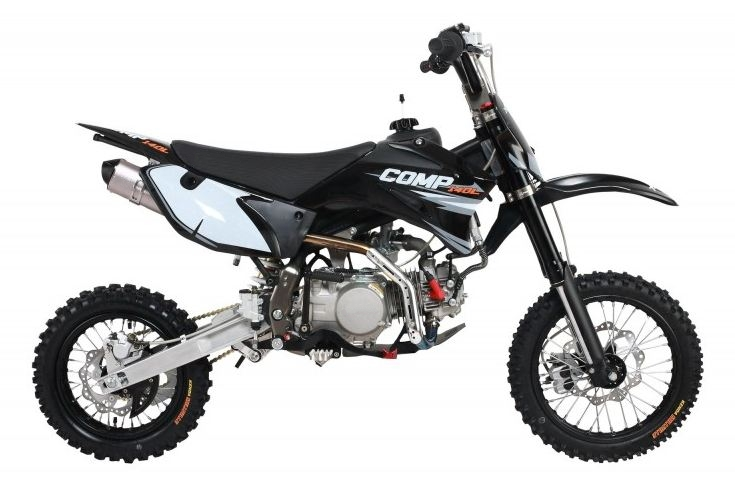 140cc Comp Pro Pit Bike Black