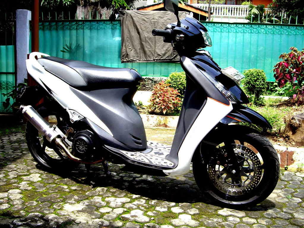 Foto Modifikasi Suzuki Skywave