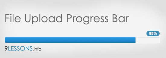 File Upload Progress Bar