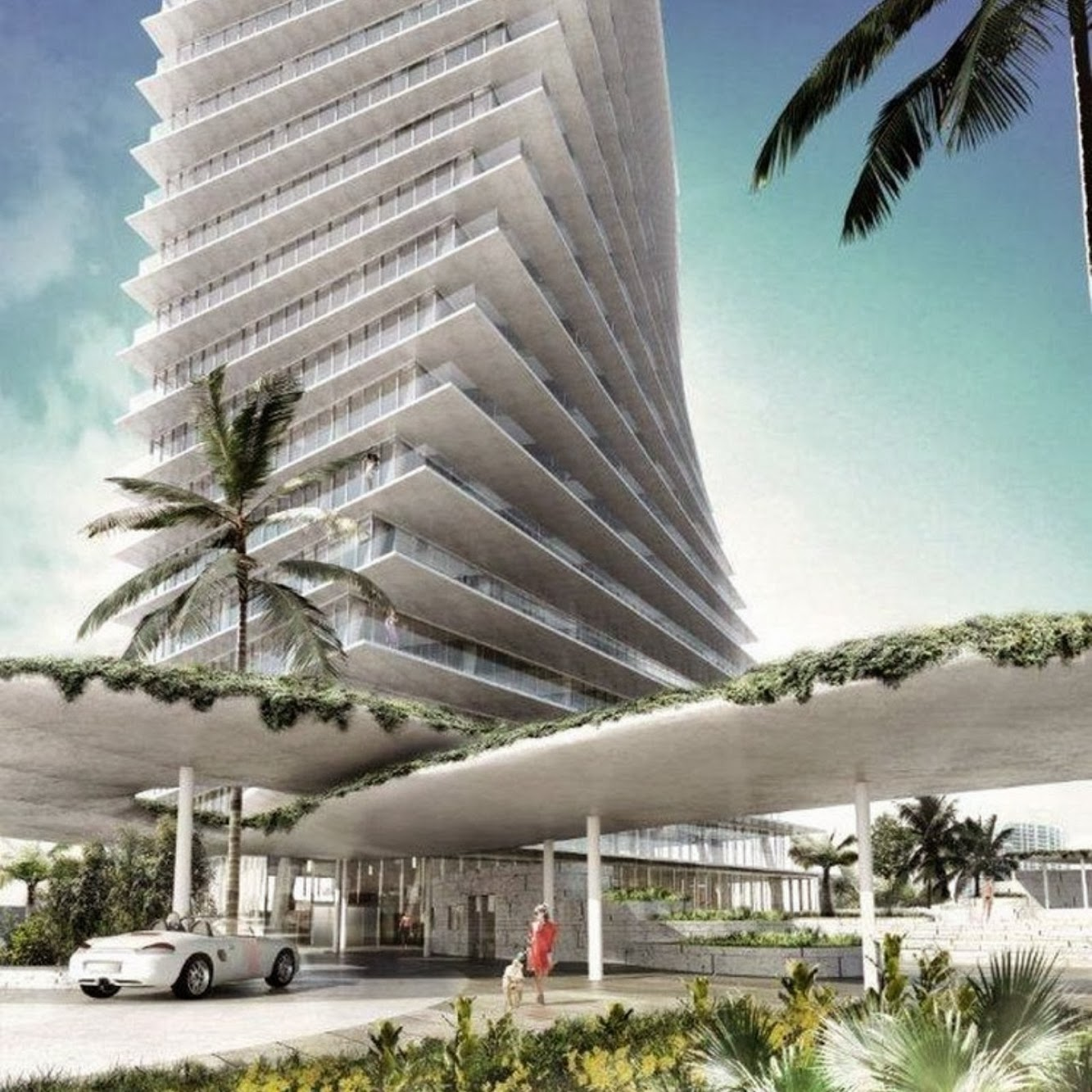Miami, Florida, Stati Uniti: Grove At Grand Bay Residences by Big