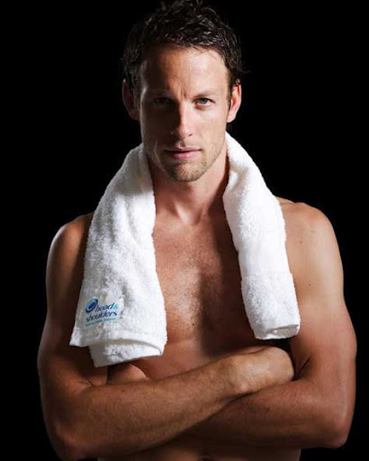 Jenson Button, sexy
