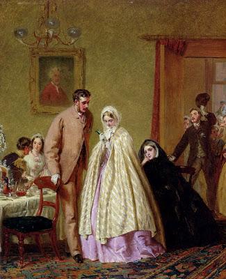 George Elgar Hicks - The Wedding Breakfast, 1862