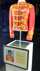Michael Jackson memorabilia inside the Delano