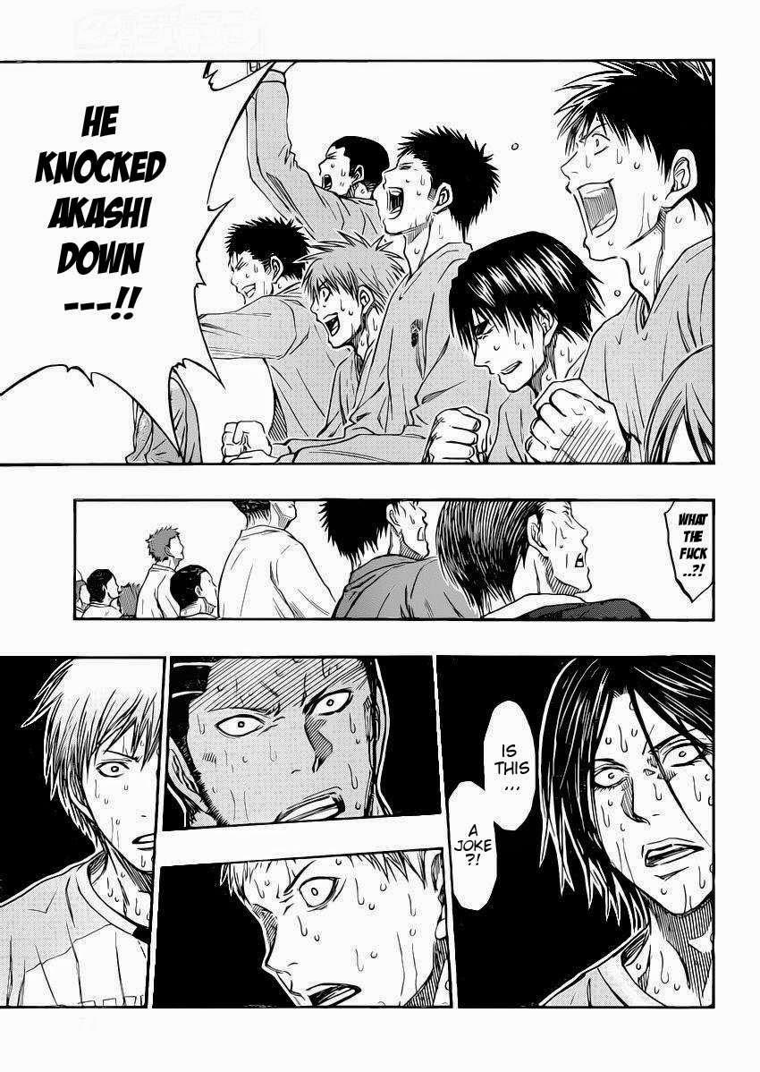 Kuroko no Basket Manga Chapter 264 - Image 11