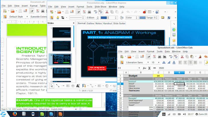 Zorin OS LibreOffice