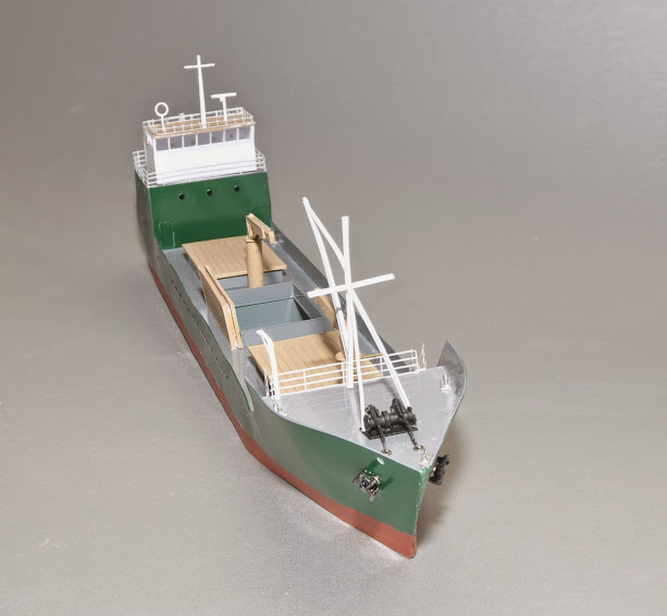 180' N Scale Freighter/Tanker Announced - Product Discussion