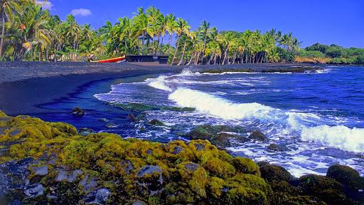 Punaluu Black Sand Beach, Big Island, Hawaii.jpg