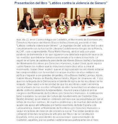 Haz click para abrir el reportaje:Acto contra la violencia de género en Castellón