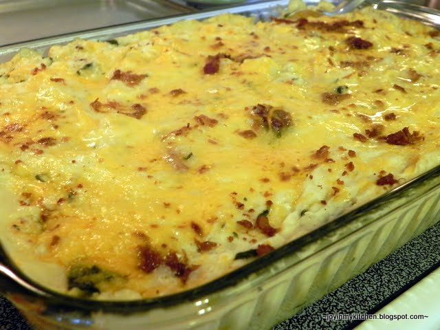 Finding Joy in My Kitchen: Easy Twice Baked Potato Casserole