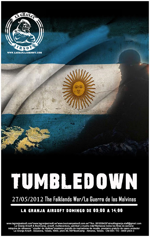 27/05/12 Tumbledown - Partida abierta - La Granja Airsoft Tumbledown