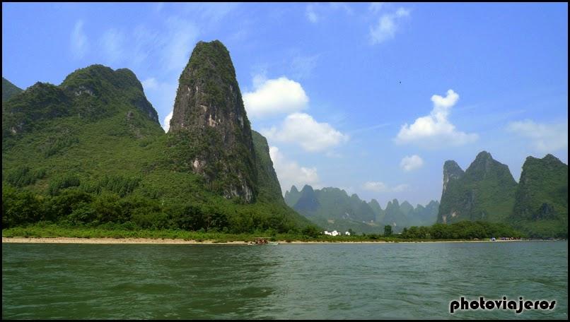 Travesía río Li
