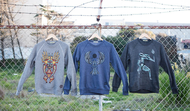 Ben's Graphic Sweatshirts: Trifecta Line Up