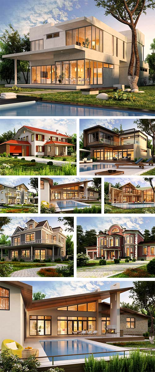 Stock Photo: The dream house