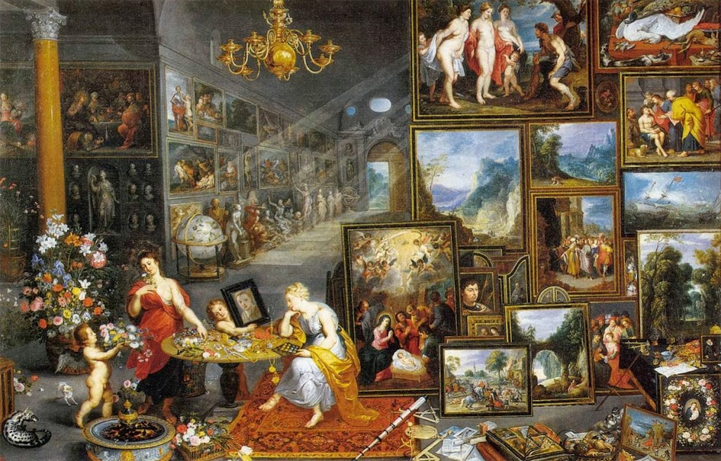 Jan Brueghel the Elder - Allegory of Sight and Smell