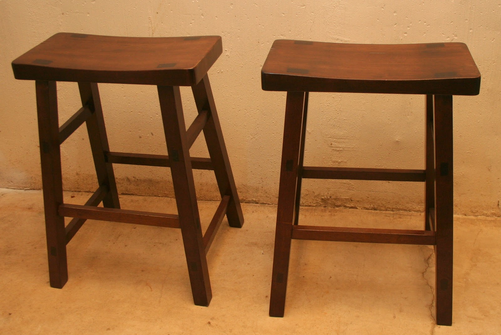 Bar Stools Each Purchased from Pier e