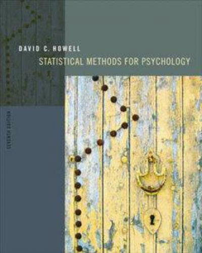 Statistical Methods For Psychology 7Th Edition
